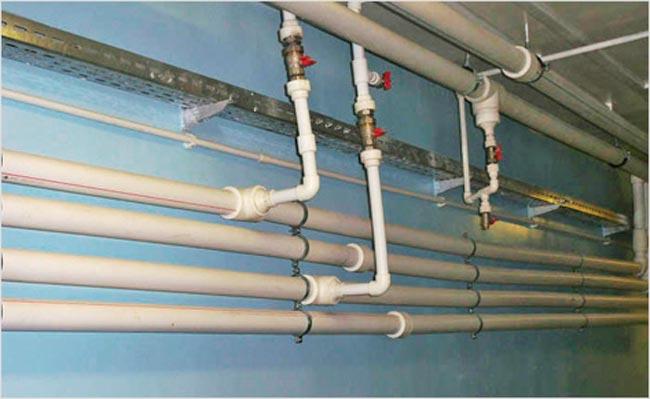 Установка котла отопления на даче